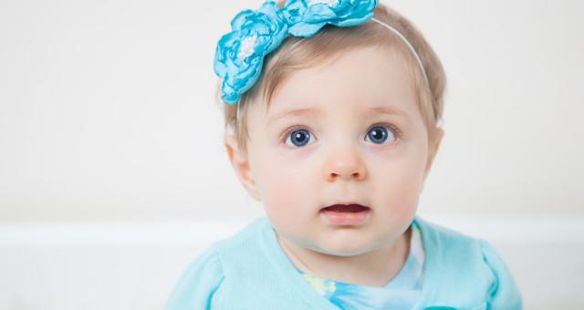 Adeline…9 Months!
