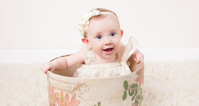 Riley…6 Months!