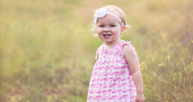 Claire…21 Months!