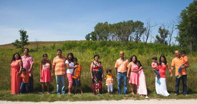 The Sharma Family!