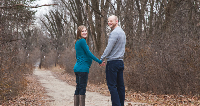 Julie + Kevin…Expecting!
