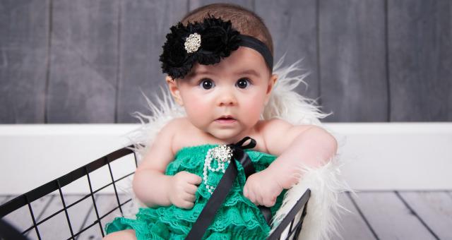 Sophia…4 Months!