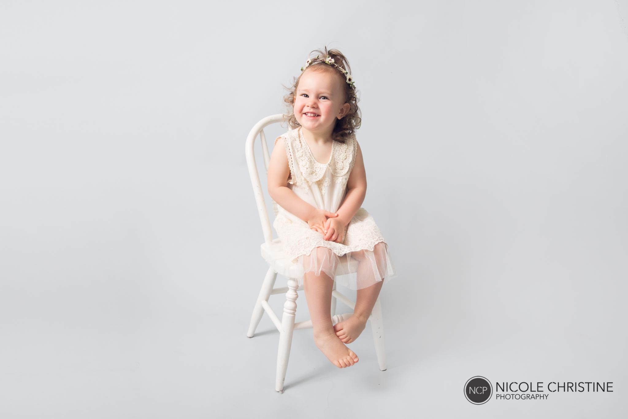 Sleigh Best Schaumburg Newborn Photographer