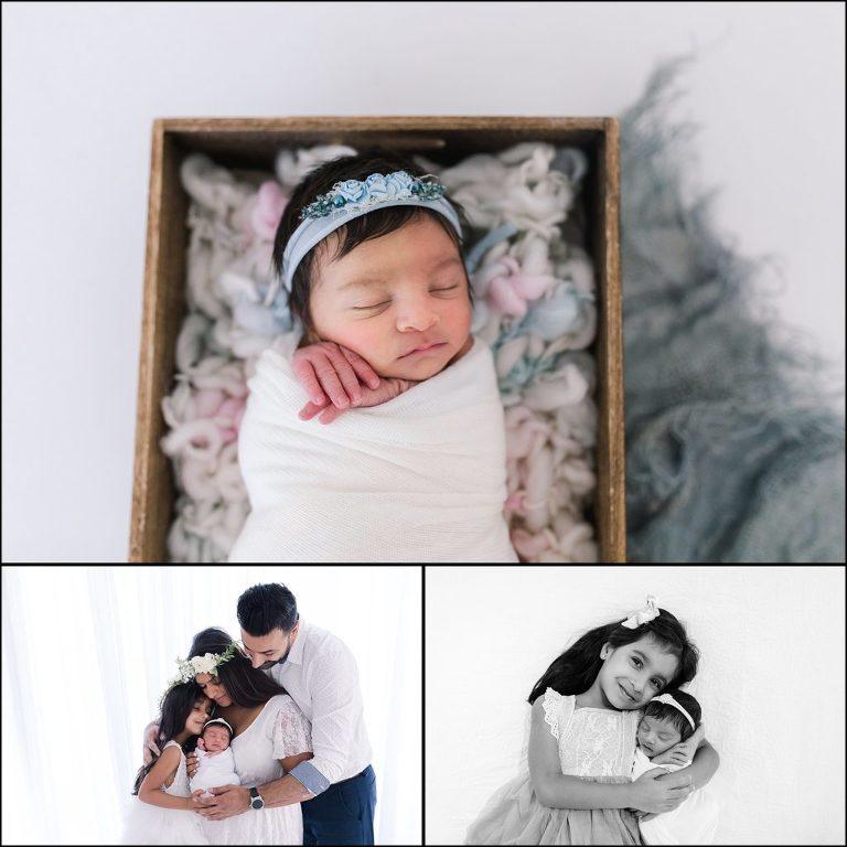 Newborn Sibling Shot