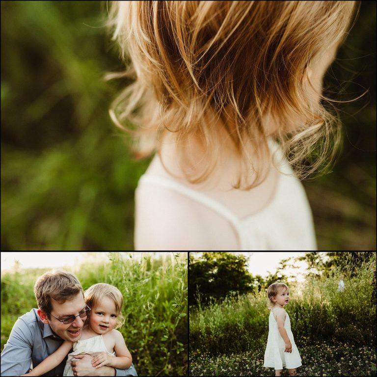 Little Girl Hair Details Photograph