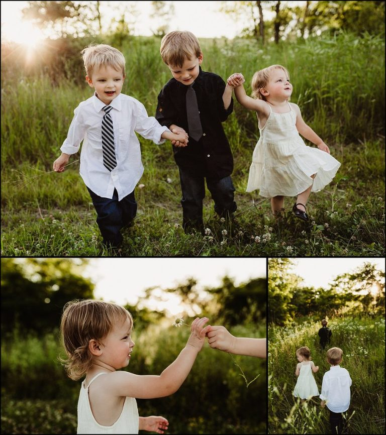 Sibling photography Roselle