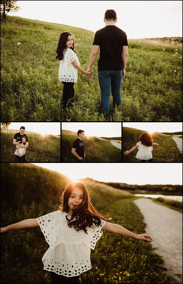Golden Hour - A Sibling Session