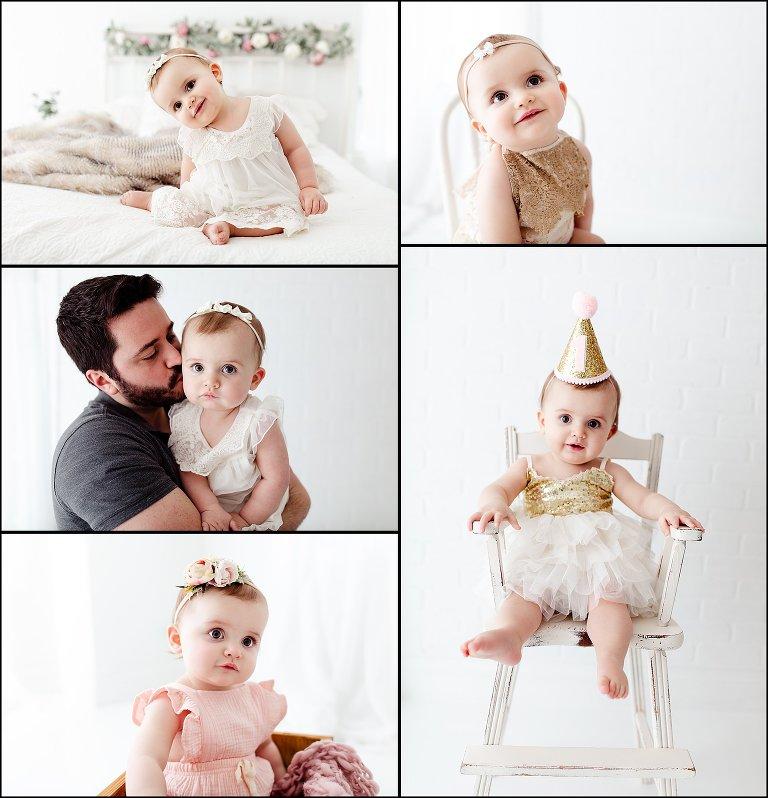 Chicago First Birthday Photographer - Anna!
