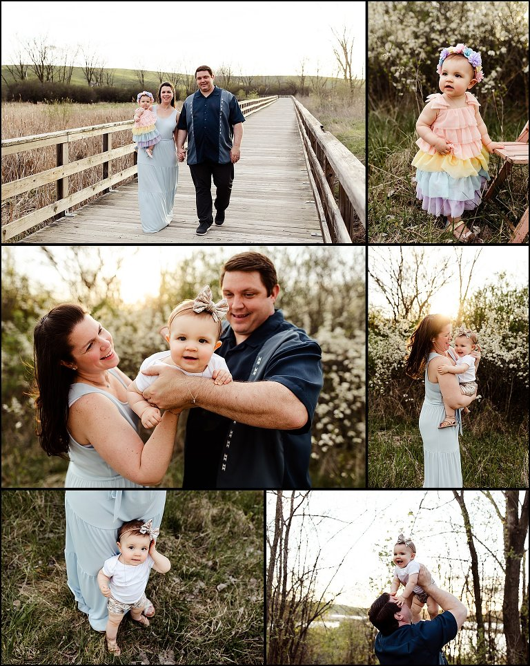 Chicago Illinois Golden Hour Family Photographer