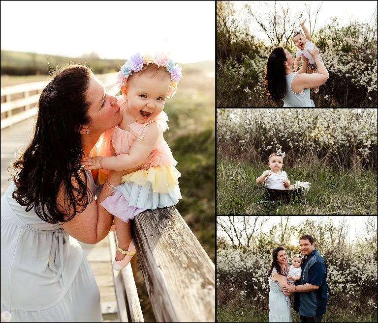 Piper Is ONE! Bloomingdale Family Photographer