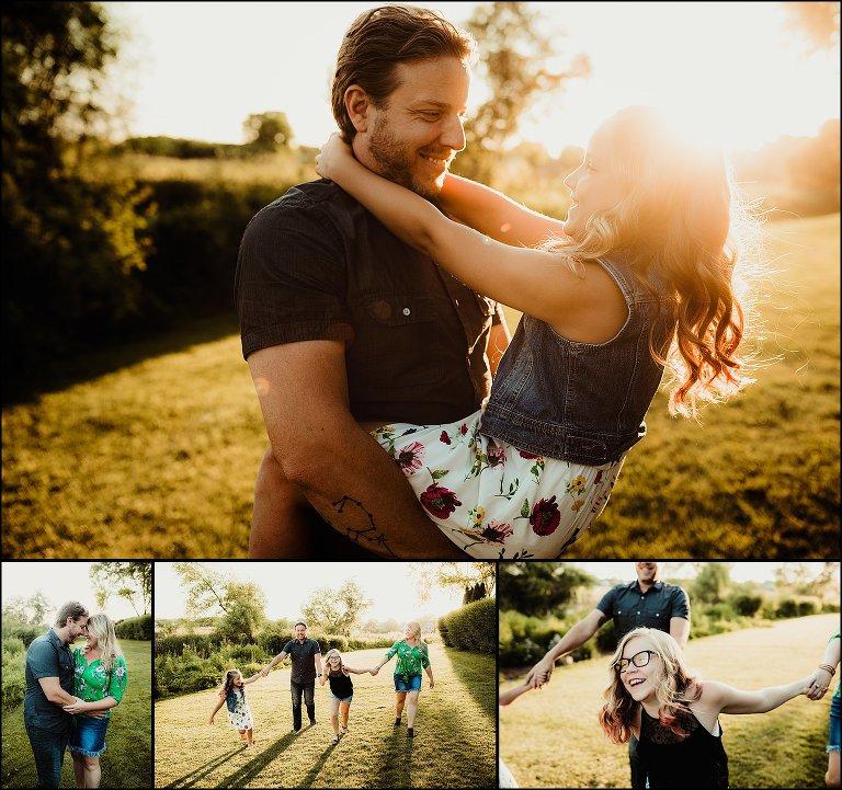 Backyard Photography Session