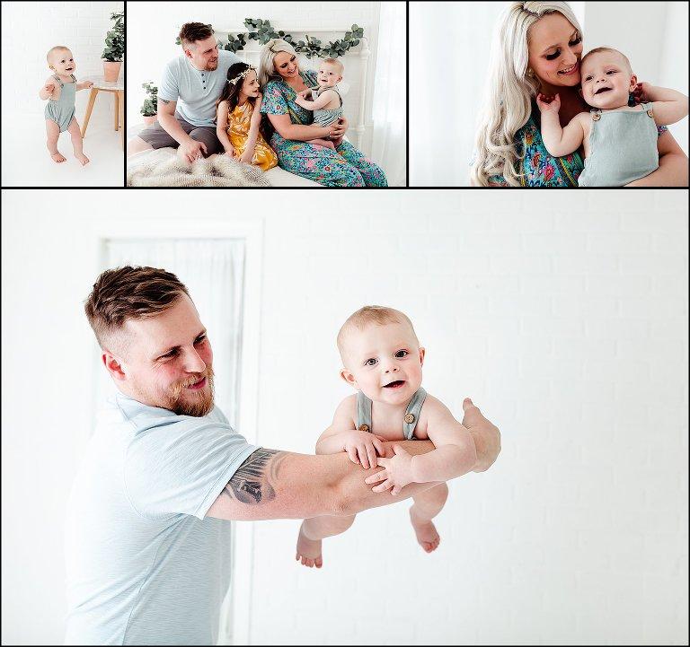 Baby Boy Photography Studio